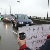 Musqueam block airport bridge