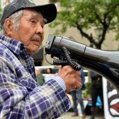 Gustafsen Lake activist Wolverine
