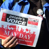 May Day March pushes for $15 minimum wage