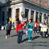 Emergency Protest to Save the DTES Health Contact Centre