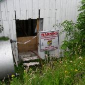 Glenrose Cannery After 1 Week of Vandalism by Government