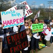 Rally Against Harper in Burnaby: Stimulating Public Debate