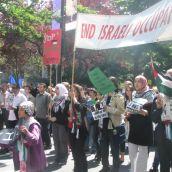 Vancouver Protest for Boycott Divestment Sanction