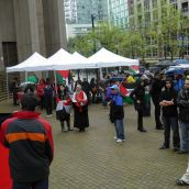 From BC to Palestine: Rally of Support