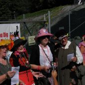 The Raging Grannies on how environmental destruction makes their blood congeal