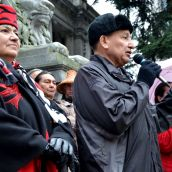 Coast Salish #IdleNoMore Rallies Against Land Grab