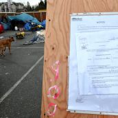 City of Abbotsford court order to vacate