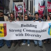 Canadian Union of Public Employees contingent