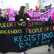 Hundreds March Against Racism in Vancouver