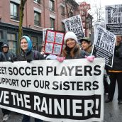 Funeral Procession for Rainier Women's Treatment Program