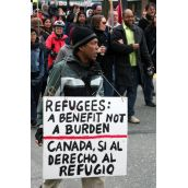 Canada, si al derecho al refugio. Community March Against Racism. Vancouver, March 18, 2012.