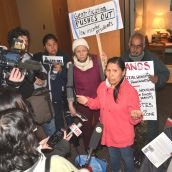 Hunger Strike weighs in at City Hall