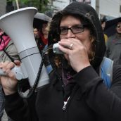 Vancouver Rallies for Striking Quebec Students