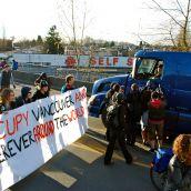 Occupy Vancouver Blocks New Brighton Park Port