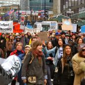 Hundreds Rally Against Enbridge Oil