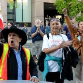 Not on Our Coast! Rally rejects pipeline approval