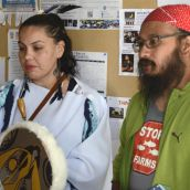 Salmon protectors occupy BC A-G's office