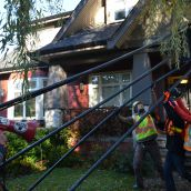 BC Premier's House 'Fracked'!