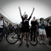 Prison Solidarity Bike Bloc