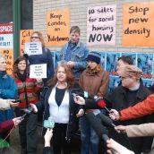 Vancouver Area Network of Drug Users spokesperson Lorna Bird.