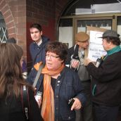 Press Conference at Fraser Street Shelter to Launch New Housing Campaign