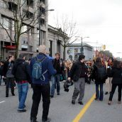 Women's Memorial March, Downtown Eastside