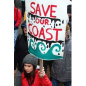Save Our Coast! Vancouver, March 26, 2012. Photo: Sandra Cuffe