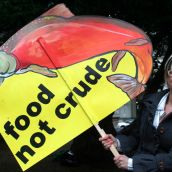 food not crude. Vancouver, March 26, 2012. Photo: Sandra Cuffe