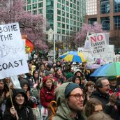 Backbone of the BC Coast! Vancouver, March 26, 2012. Photo: Sandra Cuffe