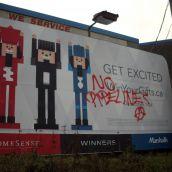 Billboard Hit Clark Drive
