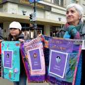 Rally Shuns Sham Inquiry on Missing Women