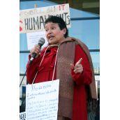 Isabel Ramirez. Vancouver, April 4 abril 2012. Foto: Sandra Cuffe