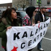 Kalayaan Centre. Community March Against Racism. Vancouver, March 18, 2012.