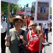 March against Kenney