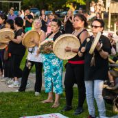 Honoring residential school survivors. June 11-2015