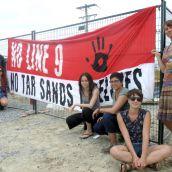 Rising Tide Shuts Down Line 9 Test Site