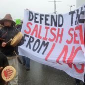 Squamish Vow to Defend Salish Sea from LNG