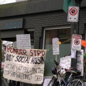 Rising Tide Stands with Pidgin Picket on Day 16 of Hunger Strike