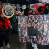 20th annual memorial march for missing women