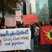 Photos: No Mines No Pipelines on Native Land