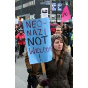 Neo-Nazis NOT Welcome! Community March Against Racism. Vancouver, March 18, 2012.