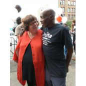 MP Libby Davies and Mike Henry
