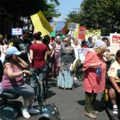 Power of Women Housing March