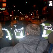 Solidarity in the face of the police