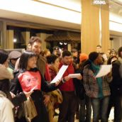 Harper Is No Santa Flashmob Hits Downtown