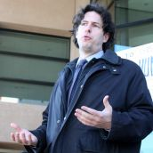 Peter Edelmann. Vancouver, April 4 abril 2012. Foto: Sandra Cuffe