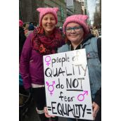 Vancouver Women's March on Trump Tower