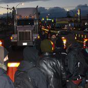 Elsipogtog Solidarity Action Shuts Vancouver Port