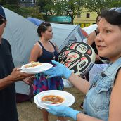 Tent City Takeout - Salmon  for 1500