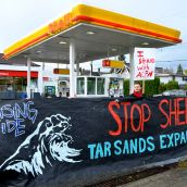 Rising Tide Targets Shell Tar Sands Plans